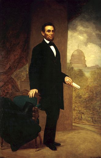 William F. Cogswell - Image: Abraham Lincoln by William F. Cogswell, 1869