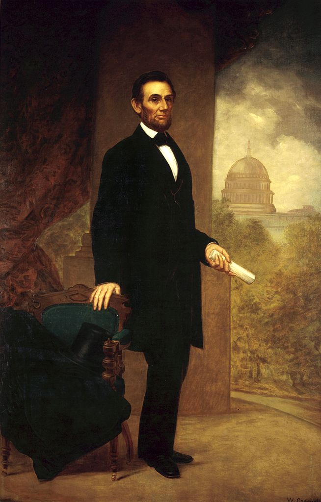 File:Abraham Lincoln By William F. Cogswell, 1869.jpg