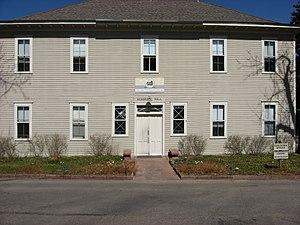 Colorado Chautauqua - Academic Hall, now the Chautauqua's offices