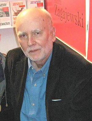 Adam Zagajewski cover