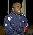 Ade Oregembe, Great Britain men's national wheelchair basketball team member, at the Sports Centre (MG 3051).jpg