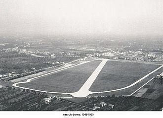 Autodromo di Modena - Aerautodromo di Modena between 1948-1950