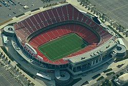 Aerial view of Arrowhead Stadium 08-31-2013 crop.jpg