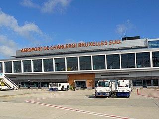 international airport serving Brussels, Belgium