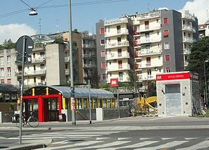 Affori Centro (Milan Metro) - Image: Affori Centro MM
