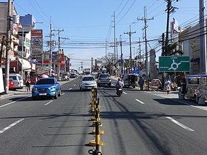 Aguinaldo Highway - Image: Aguinaldo Highway Tagaytay area (Tagaytay, Cavite; 2017 03 16)