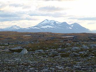 Áhkká - Image: Ahkka from Maukojaureh