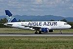 Aigle Azur Airbus A319-114 at Basle-Mulhouse.jpg