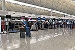 Air China check-in counters at VHHH T1 (20180903152419).jpg