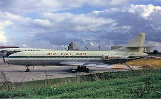 Air Vietnam - Caravelle Groves, in 1962