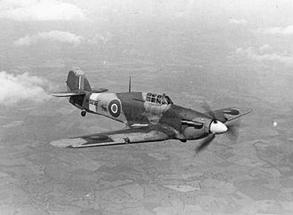 Frank Reginald Carey - Carey flew the Hurricane Mark I.