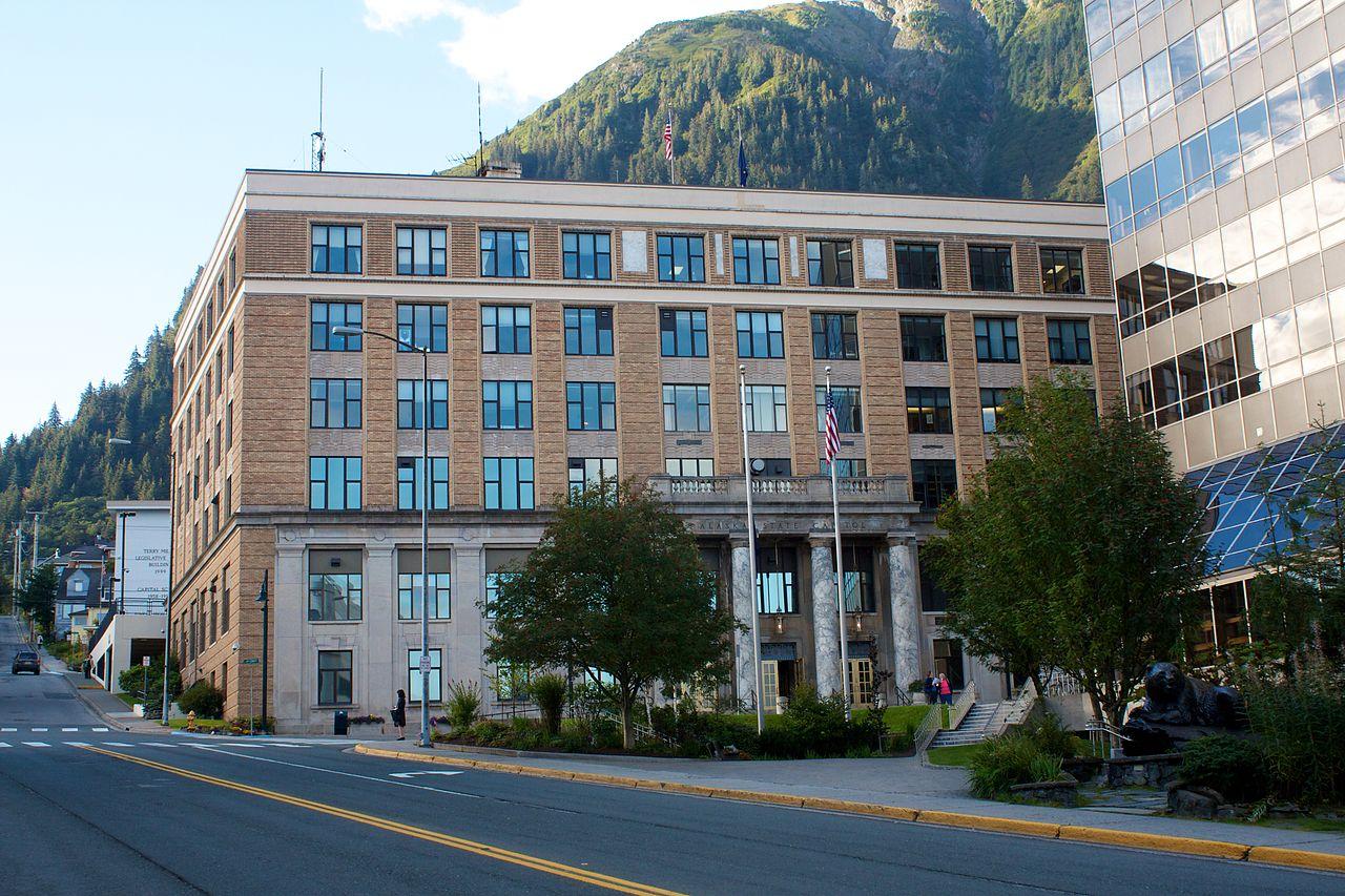 Image result for alaska state capitol