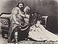 Albert, Joseph - Ludwig und Malwine Schnorr von Carolsfeld als »Tristan« und »Isolde« der Münchner Uraufführung (Zeno Fotografie).jpg