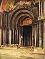 Albert Maignan - Le portail central de Saint-Marc de Venise.jpg