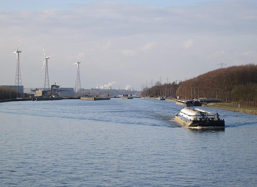 Albertkanaal Ham