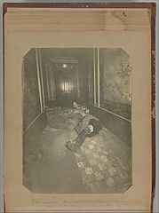 Album of Paris Crime Scenes - Attributed to Alphonse Bertillon. DP263705.jpg