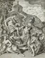 Alegoria da Pintura; Atena (D. Ana de Lorena) protegendo a Pintura (1752) - André Gonçalves e Manuel José Gonçalves (cropped).png