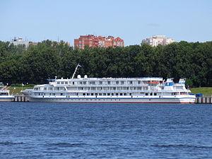Aleksandr Grin in North River Port 20-jun-2012.JPG