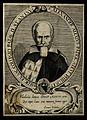 Alexander Alessi (Alexius). Line engraving by Ruffonus, 1657 Wellcome V0000125.jpg