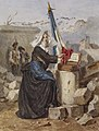 Alexandre-Marie Guillemin - Aid for the Wounded (Sister of Charity) - Walters 371413.jpg