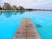San alfonso del mar wikipedia for Largest swimming pool in the world in chile