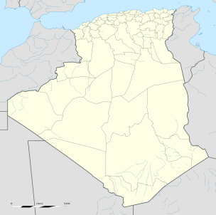 SS Empire Eve is located in Algeria