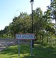 Alise-Sainte-Reine, citylimit du hameau des Celliers.JPG