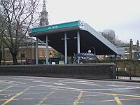 All Saints DLR stn building.JPG