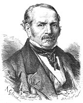 Portrait d'Allan Kardec paru dans L'Illustration, le 10 avril 1869.