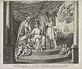Allegorie op de Alliantie met Frankrijk, 1795 Verbindtenis der Fransche en Bataafsche Gemeenebesten (titel op object), RP-P-OB-86.576.jpg