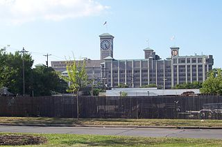 Rockwell Automation Headquarters and Allen-Bradley Clock Tower office building located in Milwaukee, Wisconsin, USA