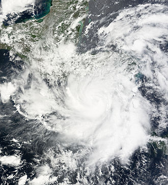 2008 Pacific hurricane season - Image: Alma 29 May 2008