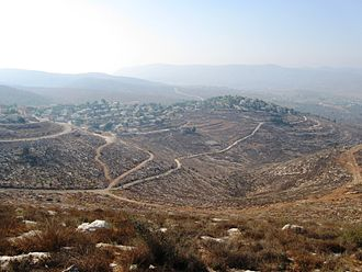Israeli-occupied territories - The settlement Elon Moreh, 2008
