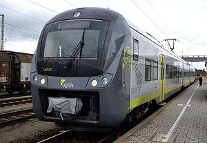 Agilis - Alstom Coradia Continental of agilis Eisenbahngesellschaft
