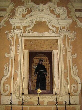 Marittima - Image: Altare di Sant'Antonio da Padova Marittima
