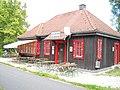 Alter Bahnhof Theuern - jetzt Radlerrastplatz * Bike tours rest point in old railway station building - panoramio.jpg