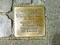 Am Marstall 18 früher Schillerstraße 45 Hannover Stolperstein Walter Matthes Jahrgang 1914 verhaftet 1939 Zuchthaus Vorbeugehaft Tot 9.8.1943.jpg