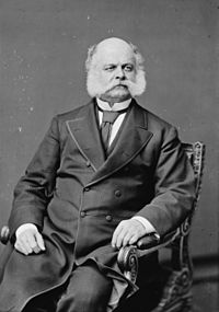 Ambrose Burnside in a chair