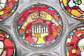 American Colony, Stained glass windows at Emanuel church IMG 2324.JPG