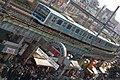 Ameyoko and train by TOMOYOSHI in Tokyo.jpg