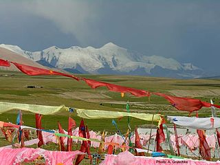 Maqên County County in Qinghai, Peoples Republic of China