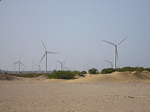 Renewable energy in Morocco - Amogdoul Wind Farm, Essaouira