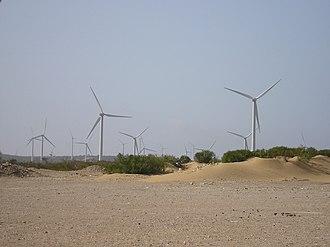 Renewable energy in Morocco - Amogdoul Wind Farm, Essaouira