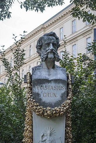 Count Anton Alexander von Auersperg - Anastasius Grün monument