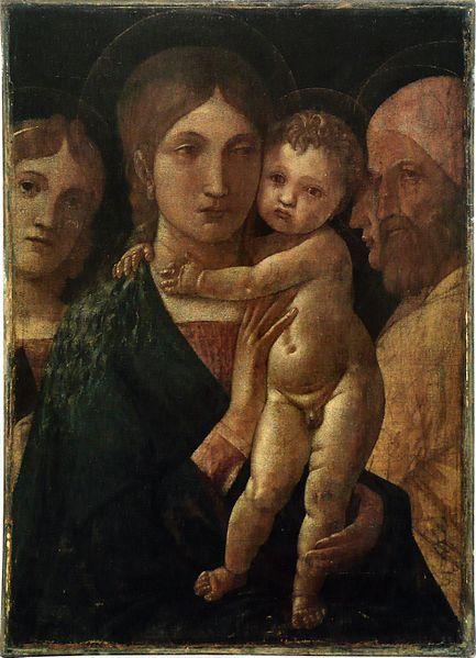File:Andrea Mantegna - La Vierge et l'Enfant.jpg