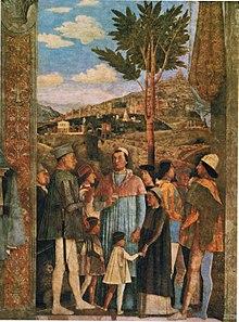 Camera degli sposi wikipedia for La camera degli sposi di andrea mantegna