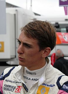 Andrea Pizzitola French racing driver
