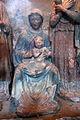 Andrea della robbia (attr.), adorazione dei magi, 04.JPG
