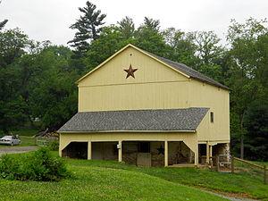 Andrews Bridge Historic District - Image: Andrew's Bridge Lan Co PA 2