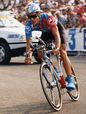 Andrew Hampsten - Hampsten at the 1993 Tour de France